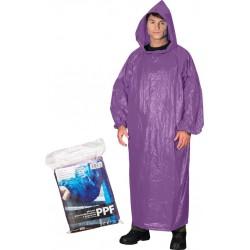 Płaszcz ochronny przeciwdeszczowy z kapturem REIS PPF fioletowy UNI