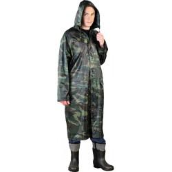 Płaszcz ochronny przeciwdeszczowy z kapturem PPNP moro r. M - 3XL