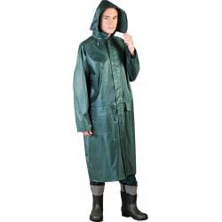 Płaszcz ochronny przeciwdeszczowy z kapturem PPNP zielony r. M - 3XL