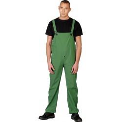 Spodnie ogrodniczki przeciwdeszczowe REIS SPD zielone r. L - 3XL
