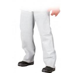 Spodnie ochronne dla spawacza skóra licowa SSL