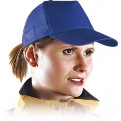 Czapka z daszkiem bejsbolówka ochronna niebieska r. 57-61 CZN