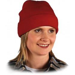 Czapka ochronna zimowa REIS CZBAW C czerwona r. 57 - 61