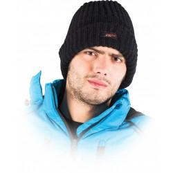 Czapka zimowa ocieplana REIS CZBAW-HOT B czarna r. 57 - 61