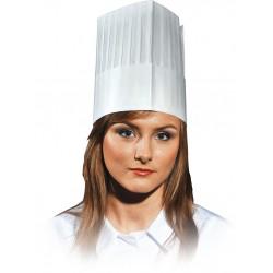 Czapka kucharska Kitchen z papieru REIS CZCOOK uniwersalna