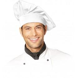 Czapka kucharska biała wysoka REIS CZCOOK-WRZ uniwersalna