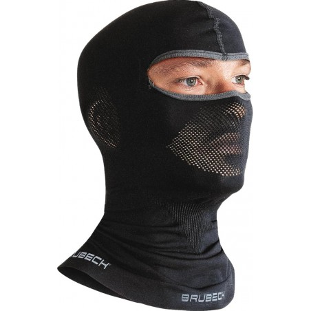 Kominiarka BRUBECK® bezszwowa czarna r. L/XL