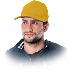 Czapka drelichowa ochronna REIS CZMZ Y żółta r. 57-61