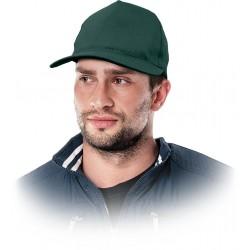 Czapka drelichowa ochronna REIS CZMZ Z zielona r. 57-61