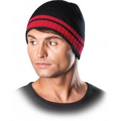 Protego czapka zimowa REIS CZPAS BC czarno-czerwony r. 57-61