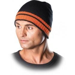 Protego czapka zimowa REIS CZPAS BP czarno-pomarańczowa r. 57-61