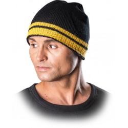 Protego czapka zimowa REIS CZPAS BY czarno-żółta r. 57-61
