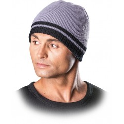 Protego czapka zimowa REIS CZPAS JSB jasnoszaro-czarna r. 57-61