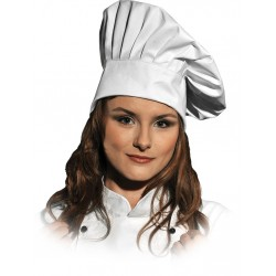 Czapka kucharska LH-HATER Chef's Kitchen biała r. L-XXL