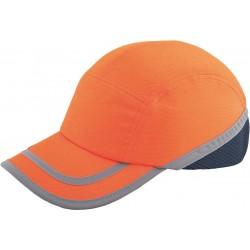 Przemysłowy hełm lekki fluo REIS BUMPCAPFLUO P pomarańczowy r. 54-59