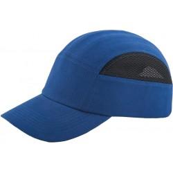 Przemysłowy hełm lekki REIS BUMPCAPMESH NB niebiesko-czarny r. 58-63