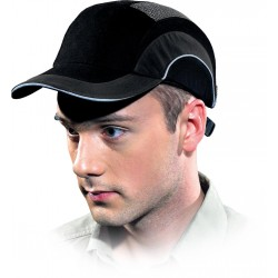 Przemysłowy hełm lekki HARD CAP czarny HARDCAPA1 B uniwersalny