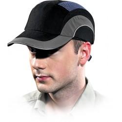 Przemysłowy hełm lekki HARD CAP czarno-szary HARDCAPA1 BS uniwersalny