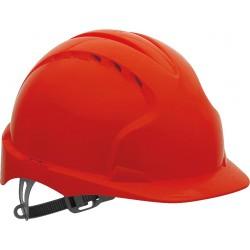 Hełm ochronny JSP EVO2 z tworzywa HDPE KAS-EVO2 czerwony