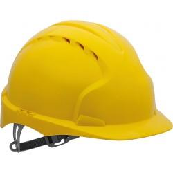 Hełm ochronny JSP EVO2 z tworzywa HDPE KAS-EVO2 żółty
