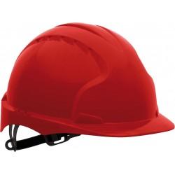 Hełm  JSP EVO3 z tworzywa HDPE KAS-EVO3 czerwony