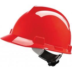 Hełm ochronny MSA V-GARD tworzywo HDPE czerwony