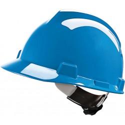 Hełm ochronny MSA V-GARD tworzywo HDPE niebieski
