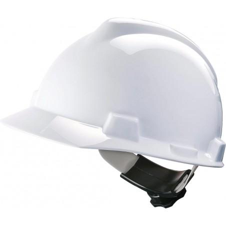 Hełm ochronny MSA V-GARD tworzywo HDPE biały