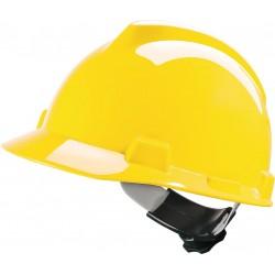 Hełm ochronny MSA V-GARD tworzywo HDPE żółty