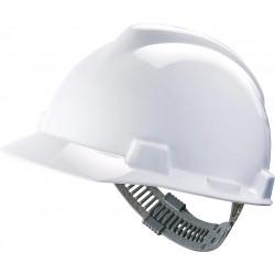 Hełm MSA V-GARD tworzywo HDPE regulacja Push-Key biały