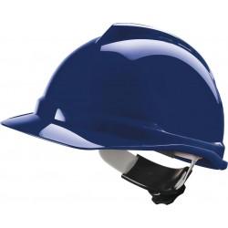 Hełm MSA-KAS-VG500 FAS-TRAC ABS niebieski