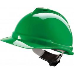 Hełm ochronny V-GARD 500 ABS Fas-Trac zielony r. 52-64