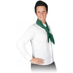 Szal BAKER szalik piekarza zielony r. 120x45cm