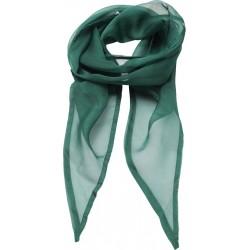 SZAL SZYFONOWY zielony r. 98x16,5 cm