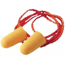 Wkładki przeciwhałasowe na sznurku 3M-OS-1110LINE pomarańczowe - 100 par