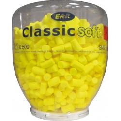 Wkładki przeciwhałasowe Classic Soft - wkład wymienny