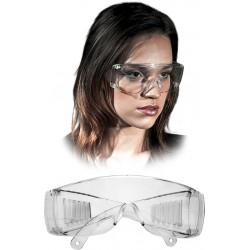 Okulary ochronne przeciwodpryskowe REIS GOG-ICE T