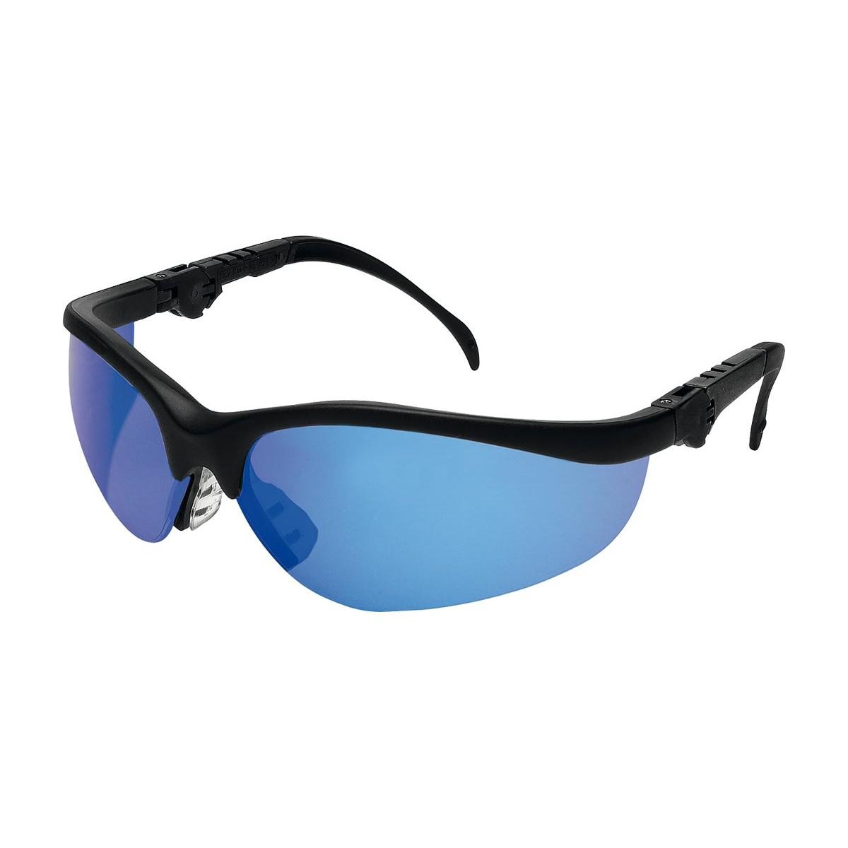 Okulary ochronne przeciwodpryskowe MCR KLONDIKE Plus MNDB niebieskie