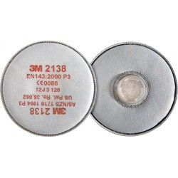 Filtry przeciwpyłowe 3M 2138 seria 2000 klasa P3 20 sztuk