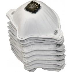 Zestaw filtrów z zaworkiem do maski FILTERSPEC_BT2V 10 szt.