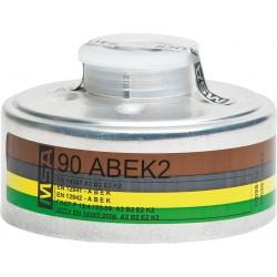 Pochłaniacz wymienny MSA 90 ABEK 2 do półmasek i masek typ A2B2E2K2