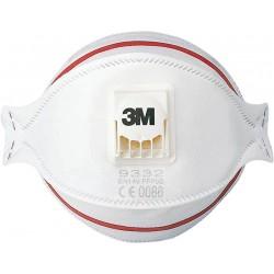 Półmaska 3M 9332 filtrująca Aura typ FFP3 biała 10 szt.