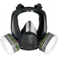 Maska pełna wielokrotnego użytku 3M seria 6000 r. M - L