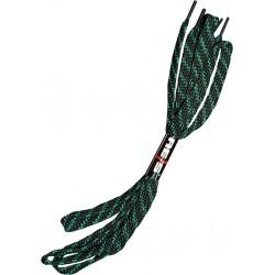 Sznurowadła sznurówki REIS BR-LACES czarno-zielone 110cm