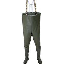 Spodniobuty wędkarskie wodery polskie rybackie PROS AJ-SB01 Z r. 39 - 48