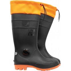 Buty zawodowe FAGUM-STOMIL 13148 czarno-pomarańczowe r. 39 - 48