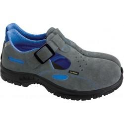Sandały bezpieczne damskie DEMAR LEO szaro-niebieskie r. 35 - 39