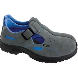 Sandały bezpieczne damskie DEMAR LEO L szaro-niebieskie r. 35 - 39