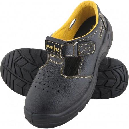 Buty zawodowe skórzane sandały REIS BRYES-S-OB BY r. 36 - 50