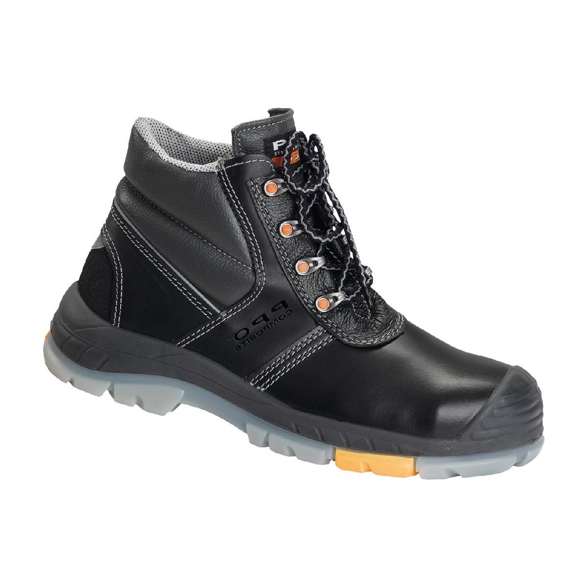 a4945c89b98138 Buty trzewiki bezpieczne z podnoskiem PPO T705 S3 HI CI SRC r. 39 - 47